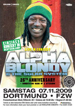 Alpha Blondy Tourposter 2009