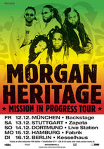 Morgan Heritage Tourposter