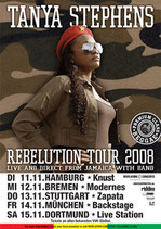 Tanya Stephens Tourposter 2008