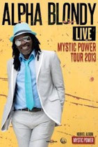 Alpha Blondy Tourposter 2013
