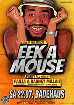 Eek A Mouse Tourposter 2017