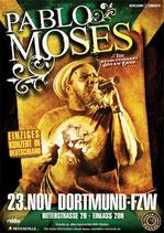 Pablo Moses Tourposter