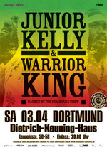Junior Kelly & Warrior King Tourposter