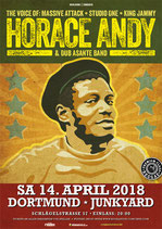 Horace Andy Tourposter
