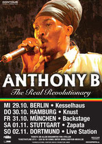 Anthony B Tourposter 2008