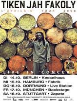 Tiken Jah Fakoly Tourposter 2008