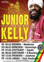 Junior Kelly Tourposter