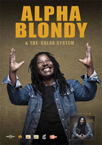 Alpha Blondy Tourposter 2011