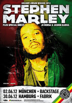 Stephen Marley Tourposter 2012
