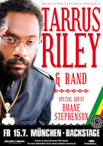 Tarrus Riley Tourposter