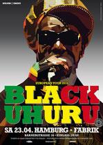 Black Uhuru Tourposter 2016