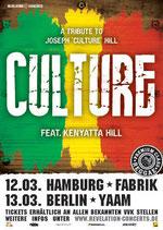 Culture Tourposter 2013