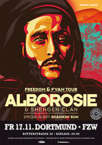 Alborosie Tourposter 2017