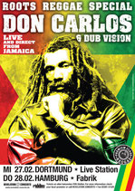Don Carlos Tourposter