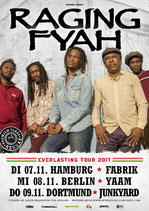 Raging Fyah Tourposter 2017