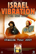 Israel Vibration Tourposter 2007