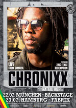 Chronixx Tourposter 2016