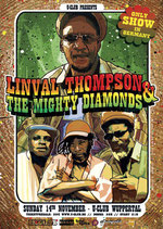 Linval Thompson & Guest Tourposter