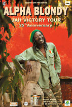 Alpha Blondy Tourposter 2010