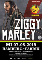 Ziggy Marley Tourposter 2019