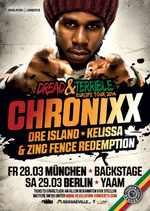 Chronixx Tourposter 2014