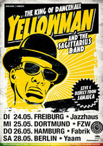 Yellowman Tourposter 2011