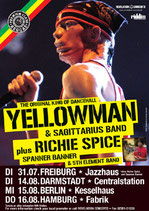 Yellowman Tourposter 2007