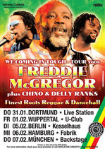 Freddie McGregor & Guests Tourposter