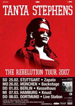 Tanya Stephens Tourposter 2007