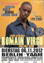 Romain Virgo Tourposter 2012