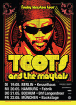 Toots & The Maytals Tourposter