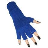 Vingerloze Handschoen Blauw