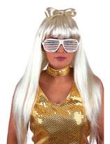 Wit Gaga Pruik