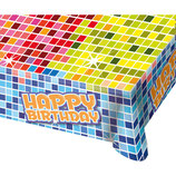 Tafeldoek Happy Birthday