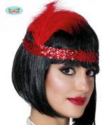 Charleston Haarband Rood