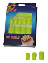 Fluo Gele Nep- nagels