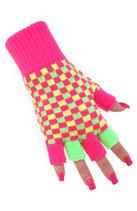 Vingeloze Handschoen Fluo