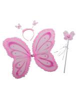 Vlinder Set Roze