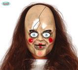 Horror doll masker