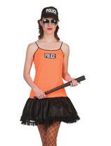 Politie Woman Oranje