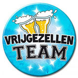 Button  XL vrijgezellen team Man