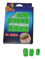 Fluo Groene Nep- nagels