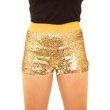 Hotpant Goud Paillet