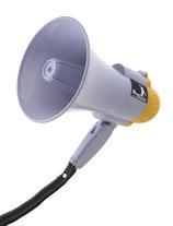 Megafoon/ Luidspreker