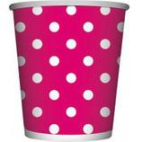 Bekertjes Roze Dots