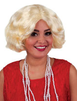 Pruik Charleston Blond