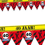 Party Tape 40Jaar