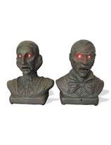 Horror pratende bustes