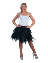 Fancy Petticoat Black