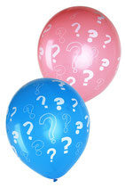 Ballonen Gender Reveal